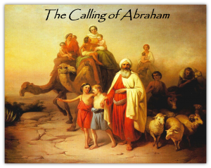 calling of abraham