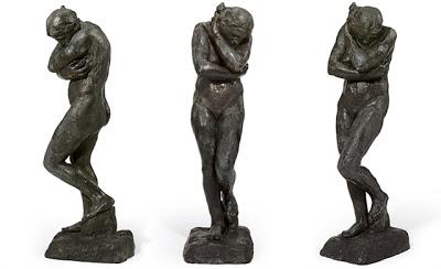 Auguste Rodin, Eve (late 1800's)