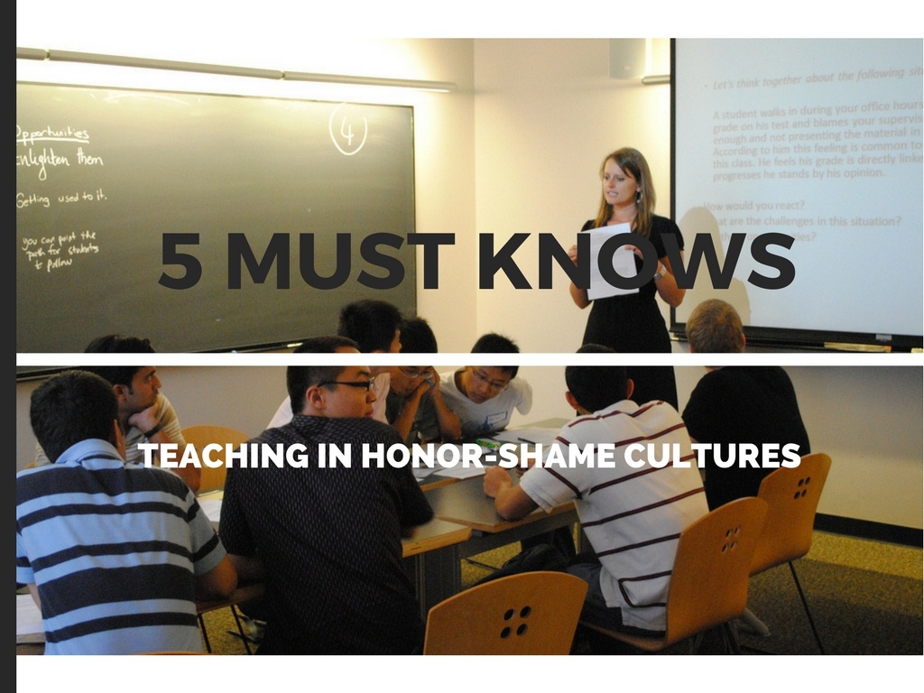 Teaching In Honor Shame Cultures 5 Must Knows Honorshame