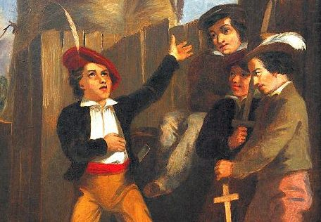"""The Storyteller"" cropped, 1843, England"