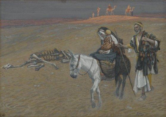 The Flight Into Egypt, James Tissot, circa 1890