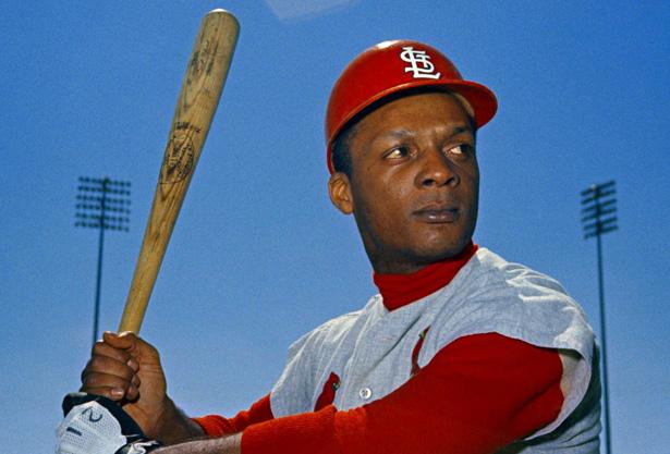 Cardinals Curt Flood 1968
