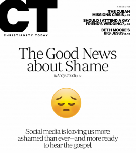 Christianity Today Good News for Shame