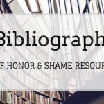 honor shame book