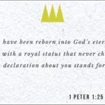 1 Peter 1.25
