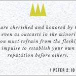 1 Peter 2.10